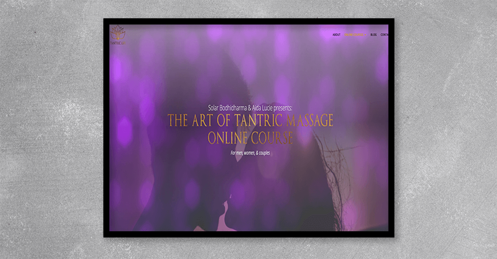 the art o tantric massage in london – art materials service